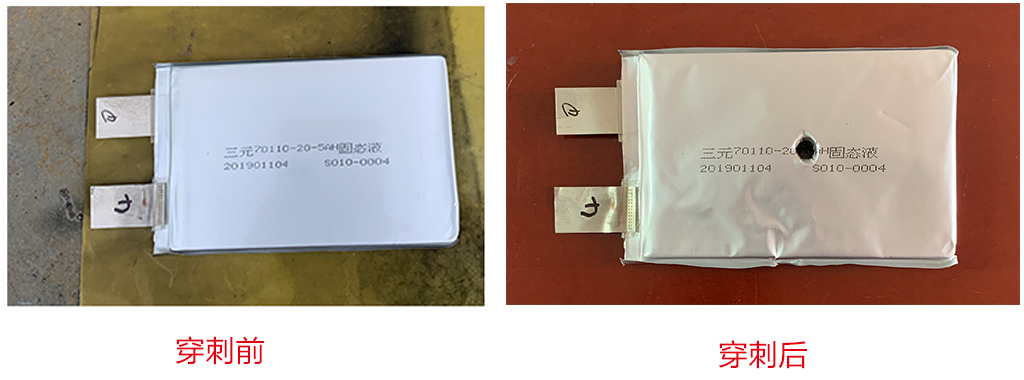 针刺不冒烟不起火的半固态锂电池研制成功